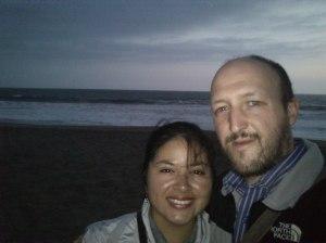 En la Playa El faro, en La Encantada
